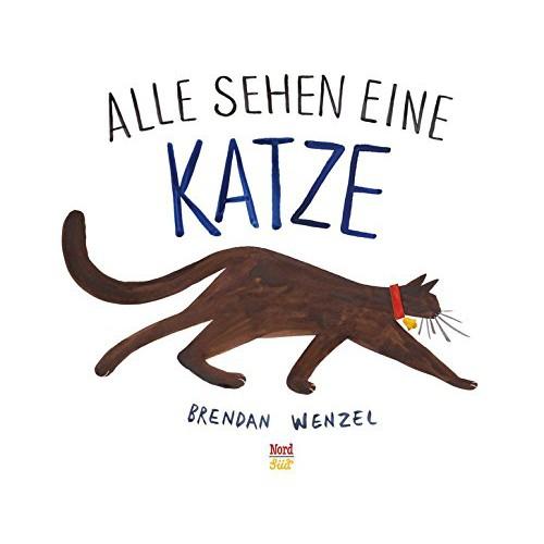 """Buch """"Alle sehen ein Katze"""""""