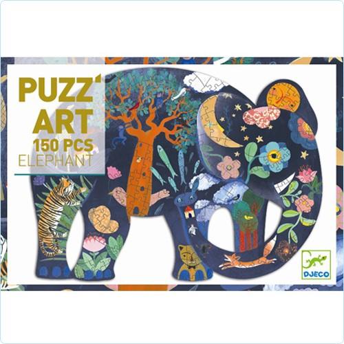 "Puzzle 150 Teile ""Puzz'Art Elefant"""