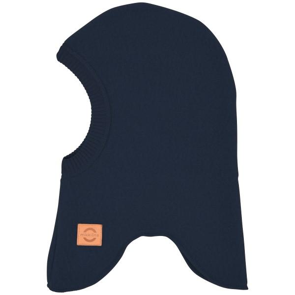Wollfleece-Schlupfmütze nachtblau