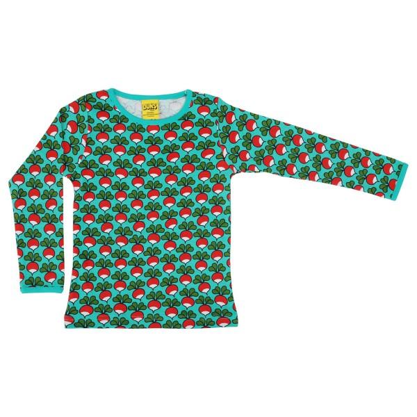 """Shirt """"Radieschen"""" billiardgrün"""