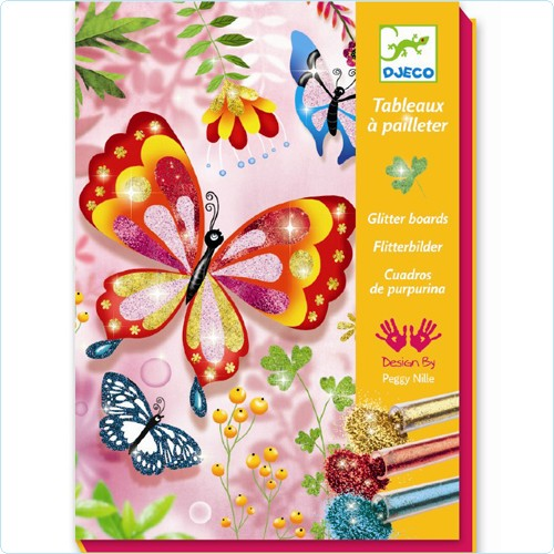 """Glitzerbilder-Malset """"Schmetterlinge"""""""