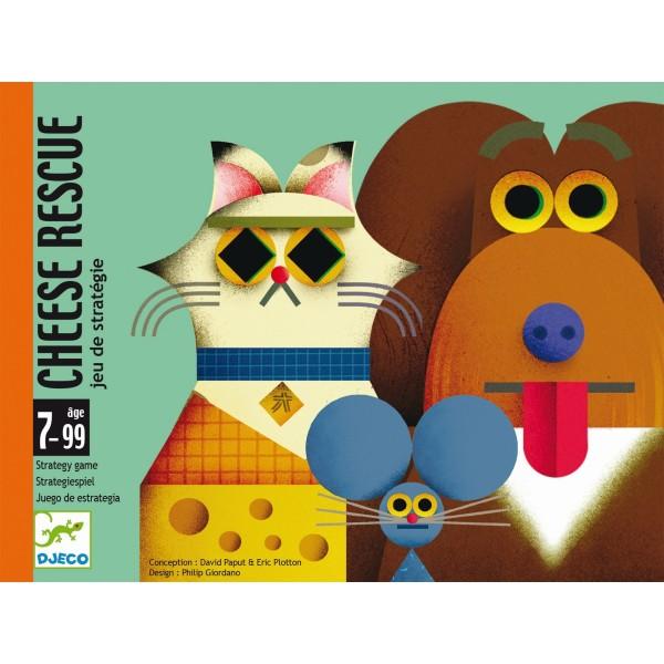 """Kartenspiel """"Cheese Rescue"""" STRATEGIE 7-99"""