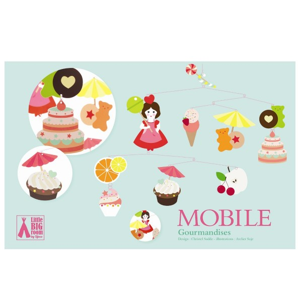"""Mobile """"Sweets"""" 50 cm"""
