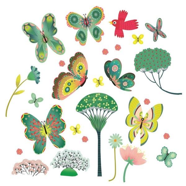"""Fenstersticker """"Schmetterlinge im Garten"""""""