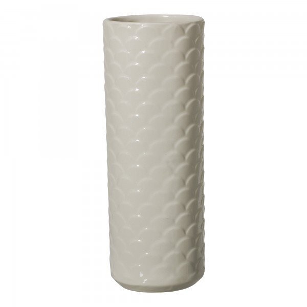 "Vase ""Schuppen"" natur ø 9 cm"