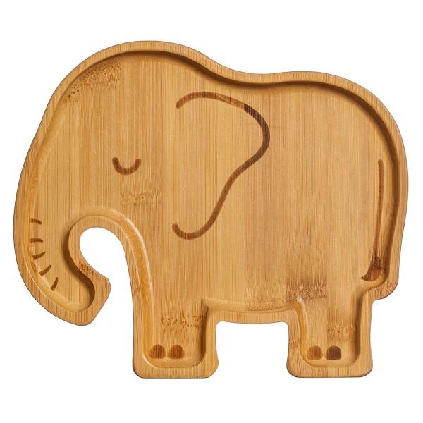 """Bambus-Teller """"Elefant"""""""