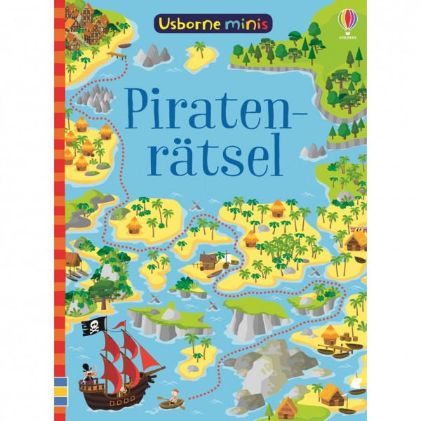 "Usborne Minis ""Piratenrätsel"""