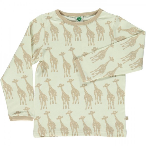 "Shirt ""Giraffen"" cream"