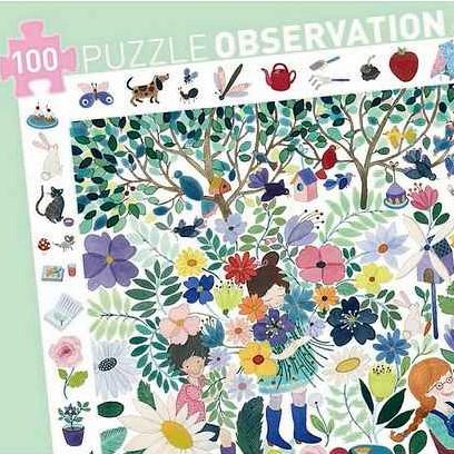 """Such-Puzzle """"1000 Blumen"""" 100 Teile"""
