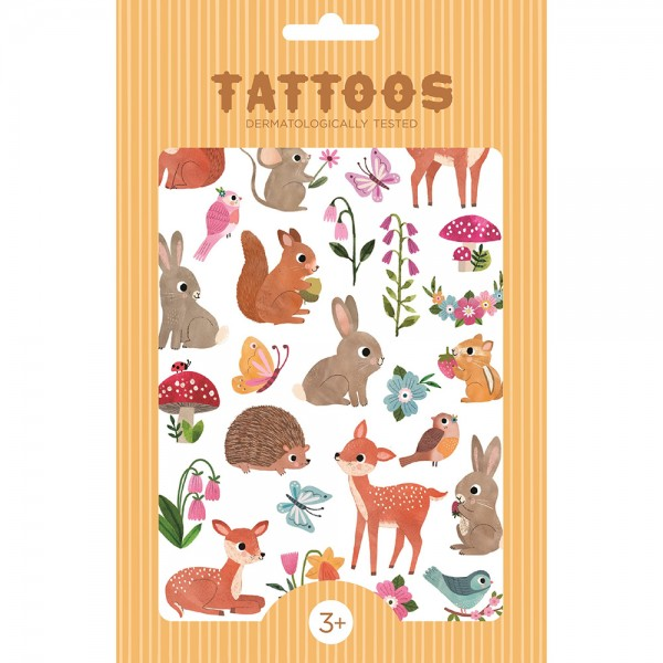 "Tattoos ""Woodland Friends"""