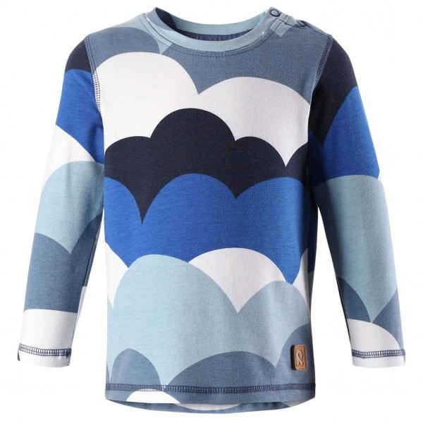 "Shirt ""Clouds"" jeansblau"