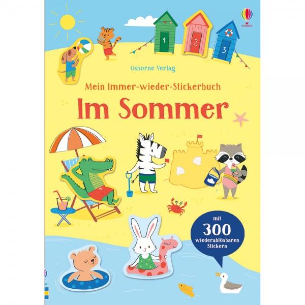 """Mein Immer-wieder-Stickerbuch """"Im Sommer"""""""
