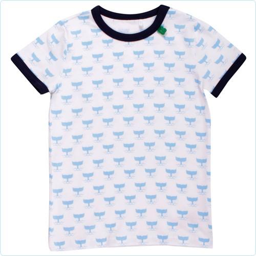 "Kurzarm-Shirt KIDS ""Sea"" hellblau"