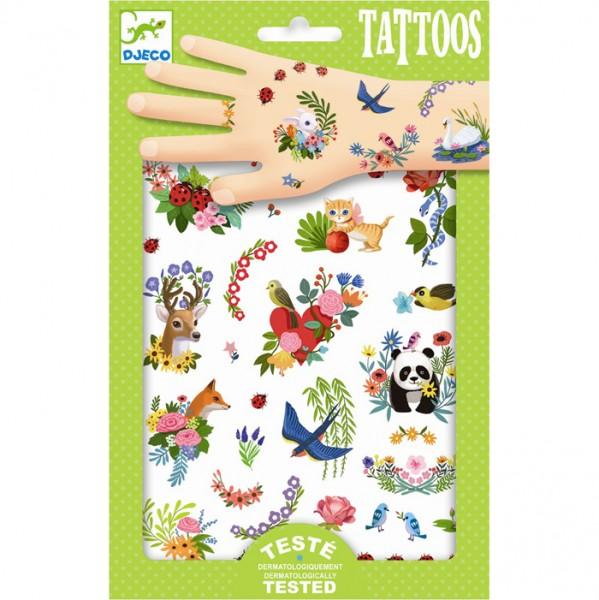 "Tattoos ""Happy Spring"""