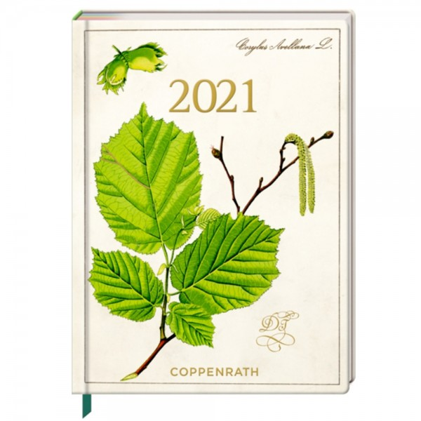 """Mein Jahr 2021 """"Haselnuss"""" Buchkalender"""