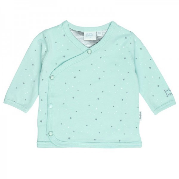 "Bio Baby-Wickel-Shirt ""Sterne"" mint"
