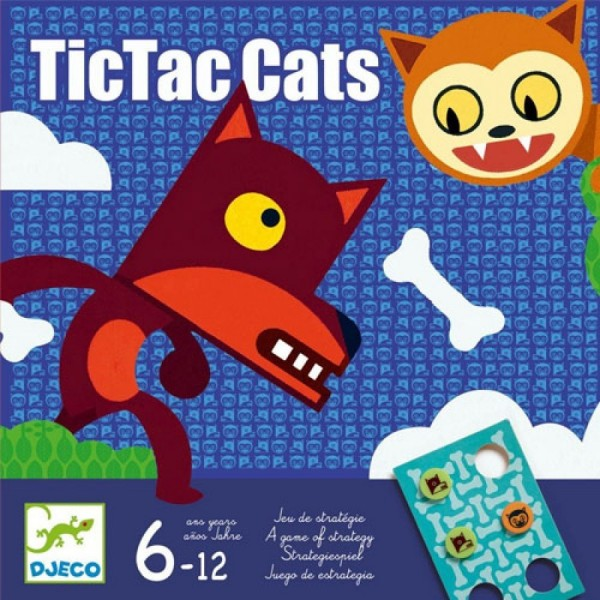 "Spiel ""TictacCats"" STRATEGIE 6-12 J"
