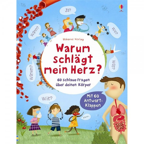 """Buch """"Schlaue Fragen - Warum schlägt mein Herz?"""""""