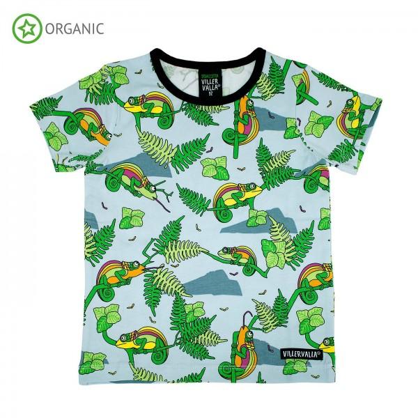 "Kurzarm-Shirt ""Chamäleon"""