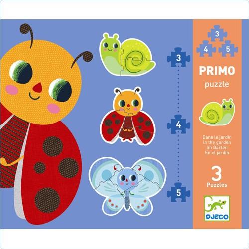 """Primo-Puzzle """"Im Garten"""""""