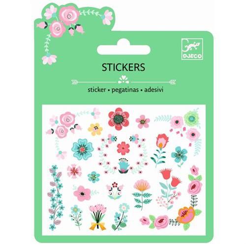 """Sticker Minipack """"Blümchen"""" Glitter"""
