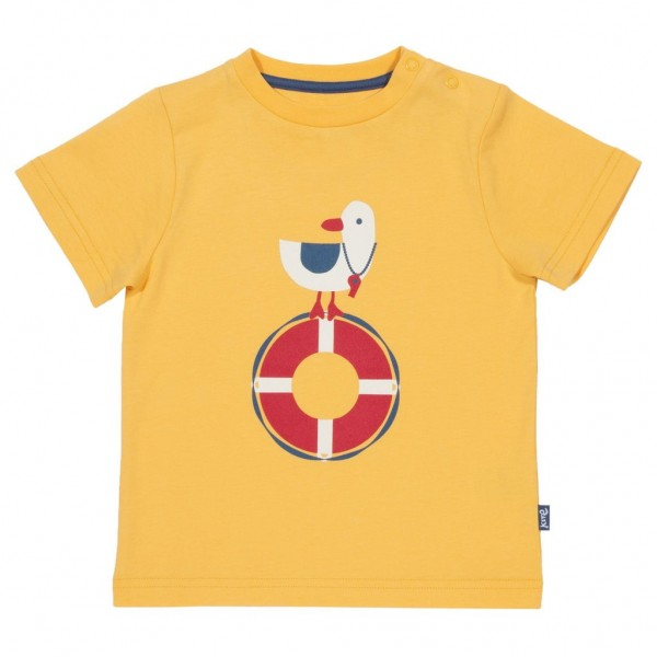 "Kurzarm-Shirt ""Sea Watch"" gelb"