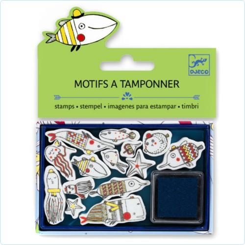 "Stempel Minipack ""Lustige Fische"""