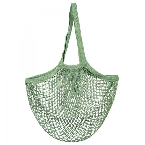 Baumwoll-Einkaufsnetz/String Shopper olivgrün
