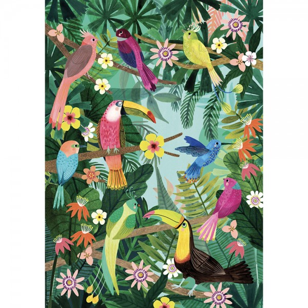 """Poster """"Regenwald"""" Rebecca Jones 50x70 cm"""