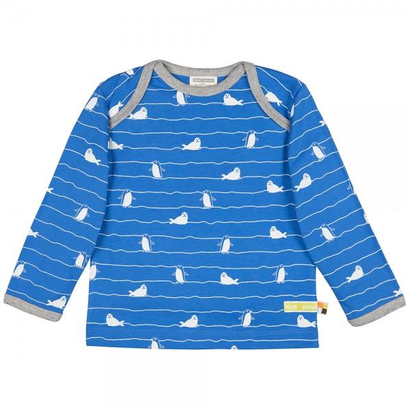 "Shirt ""Robben & Wellen"" cobalt"