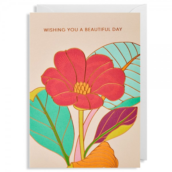 "Klappkarte ""Wishing You A Beautiful Day"" Hanna Werning"