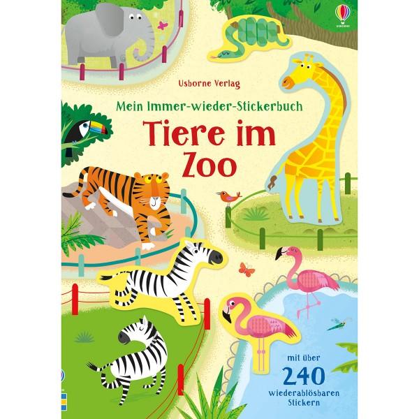 """Mein Immer-wieder-Stickerbuch """"Tiere im Zoo"""""""