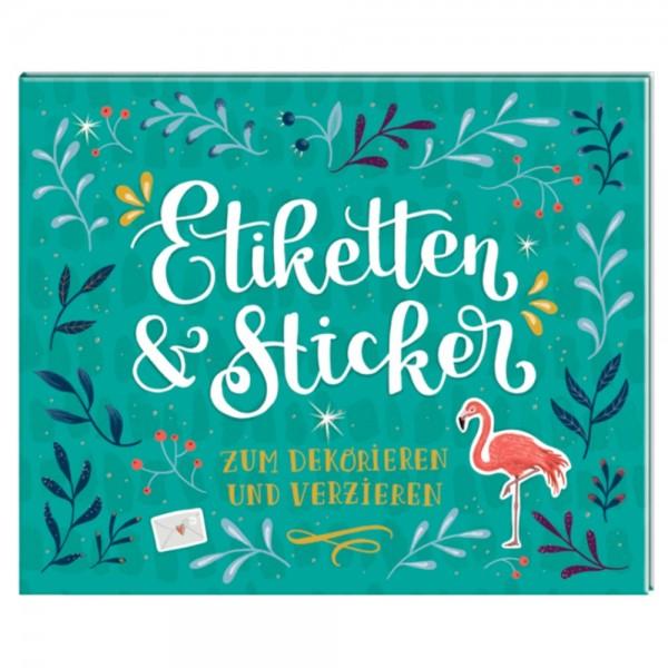 """Stickerbuch """"Etiketten & Sticker"""" Zum Dekorieren und Verzieren"""