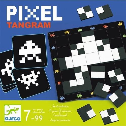 """Spiel """"Pixel Tangram"""" GEDULD 7-99 Jahre"""