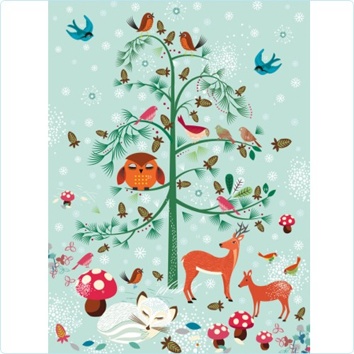 """Adventskalender """"Critters Wonderland"""" 38x27"""