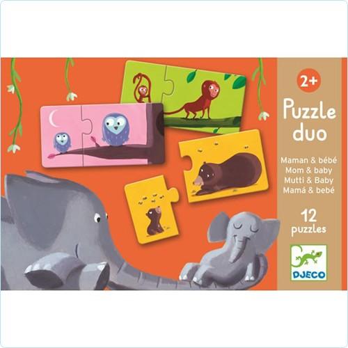 "Duo-Puzzle ""Mama & Kind"""