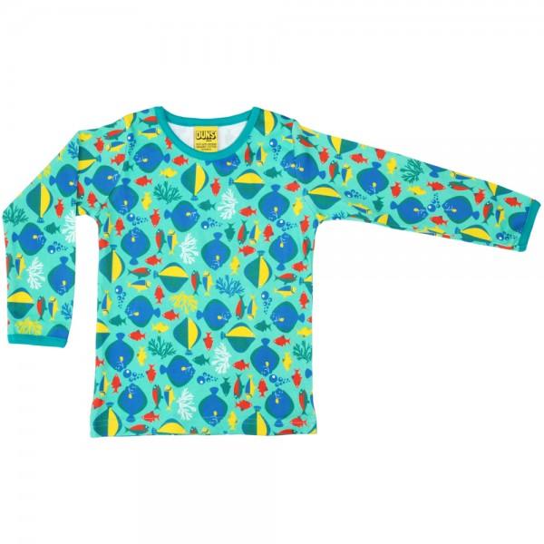 """Shirt """"Fische"""" auqa"""