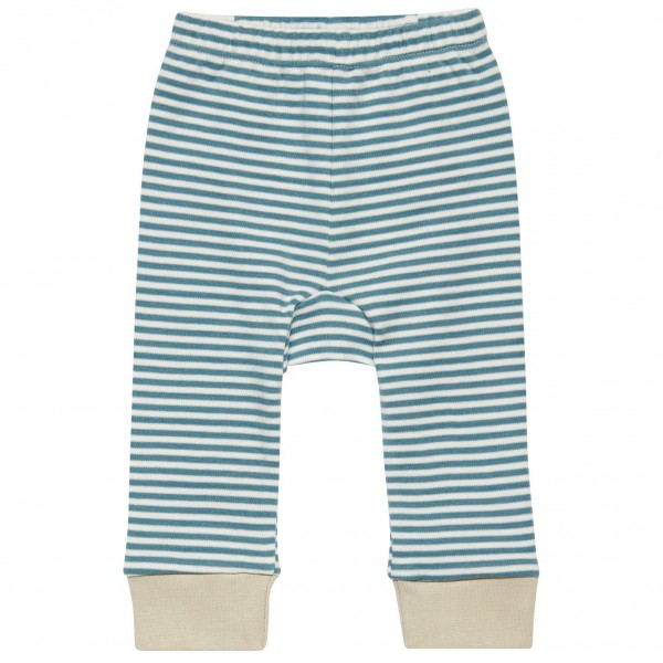 "Baby-Leggings ""Ringel"" pale blue"