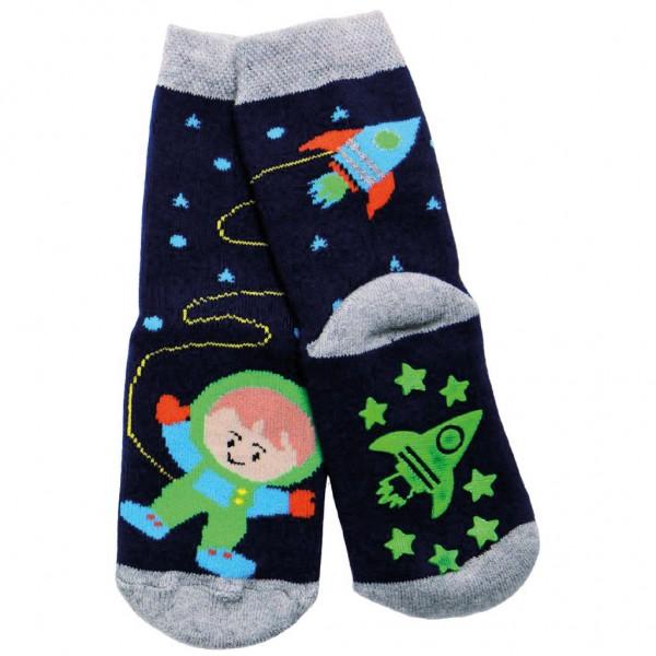 ABS-Socken Astronaut & Weltall navy - Ewers