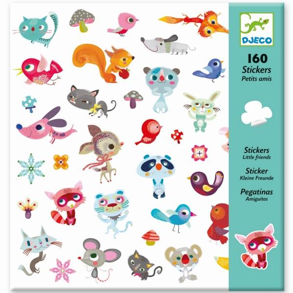 """160 Sticker/Aufkleber """"Kleine Freunde"""""""
