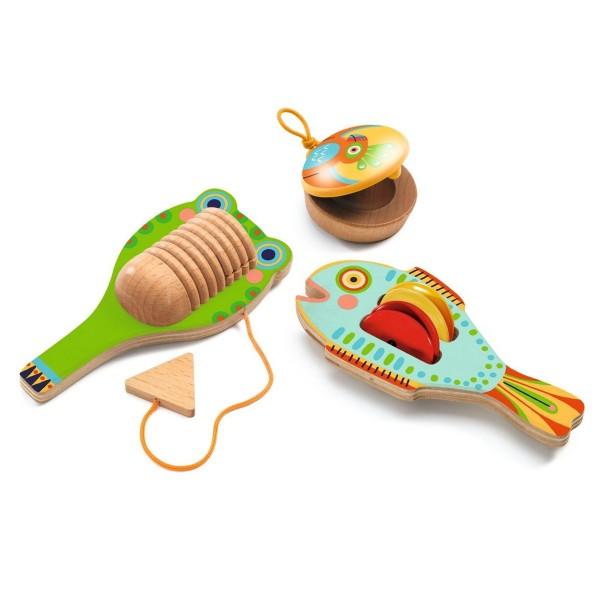 """Set 3 Percussion-Instrumente """"Animambo"""""""