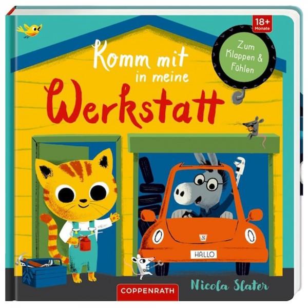 """Buch """"Komm mit in meine Werkstatt"""""""