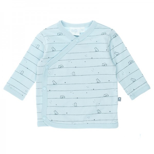 "Bio Baby-Wickelshirt ""Little One"" hellblau"