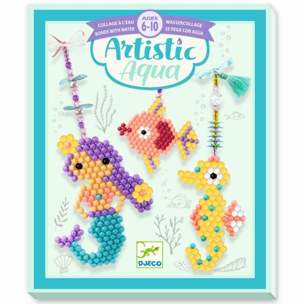 "Bastelset ""Artistic Aqua - Meereswesen"""