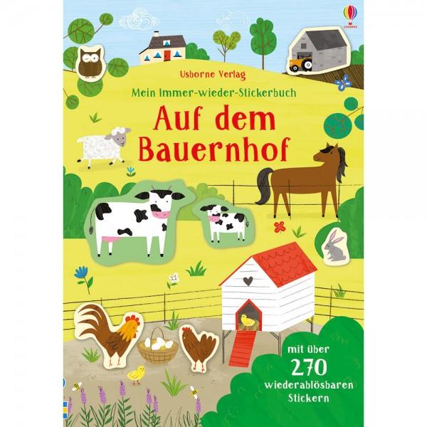 """Mein Immer-wieder-Stickerbuch """"Auf dem Bauernhof"""""""