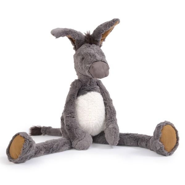 """Plüschtier Großer Esel """"Les baba bou"""" 60 cm"""