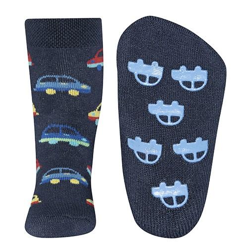 """ABS-Socken """"Autos"""" tinte"""