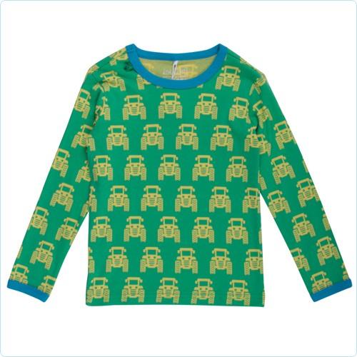 """Shirt KIDS """"Traktoren"""" grün - Green Cotton"""