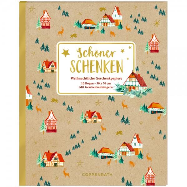 """Geschenkpapier-Buch """"Schöner Schenken"""" Weihnachtliche Geschenkpapiere"""