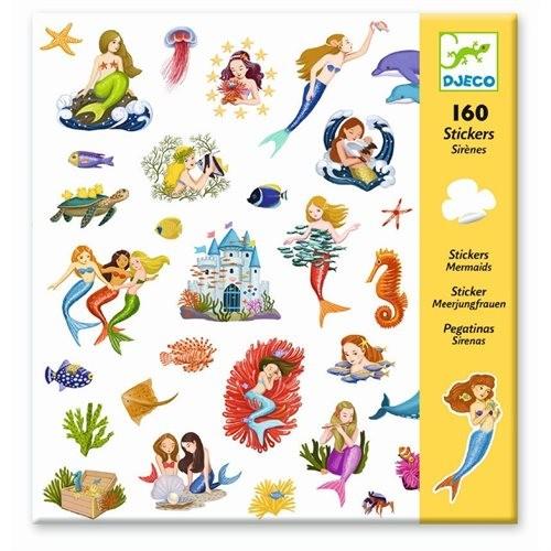 """160 Sticker/Aufkleber """"Meerjungfrauen"""""""